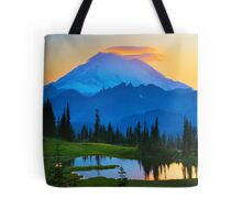 Mount Rainier Goodnight Tote Bag