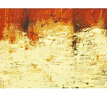 Venice Wall 2 - original acrylic abstract painting on panel Photographic Print