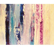 waters 2 - original abstract acrylic painting on canvas Photographic Print