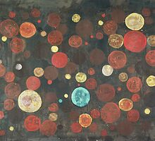 Autumn Thoughts Meeting - original abstract painting on canvas by Marco Sivieri