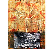 Roots - original acrylic painting on canvas Photographic Print
