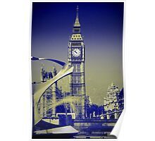 Big Ben: London UK: The Story of the Bell Poster