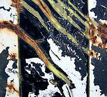 Abstract in Metal by Alixzandra