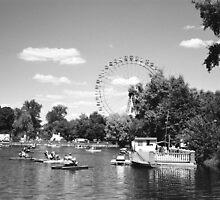 Ferris Wheel Gorky Park II by Gordon Lukesh