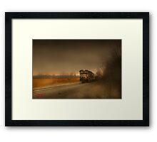 """ Rail  ""  Framed Print"