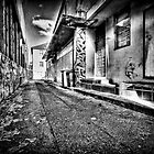 The Slums Of Taree B&amp;W by Matthew Jones