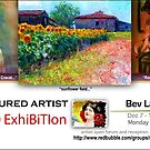 Featured Artist in Solo Magazine Issue 21 by bev langby