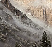 Low Clouds over Yosemite by Nickolay Stanev