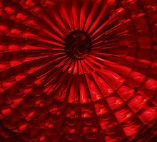 Red vortex by Erika Gouws