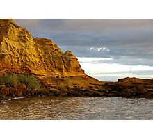 Red Bluff Cliff Photographic Print