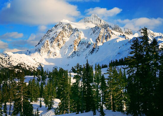 Shuksan Winter by Inge Johnsson