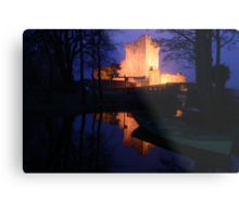 Ross Castle night view Metal Print