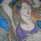Blue Moon Dance by Anthea  Slade