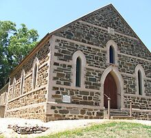 Mt Torrens Community Church c1854 by ScenerybyDesign