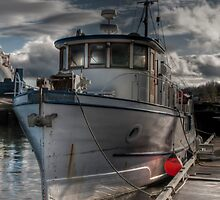 Trawler Yacht by Rick Ruppenthal