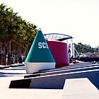 Geometric Walk - Geelong Foreshore by Rhonda F.  Taylor