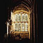 Church Window Detail by Sally Green