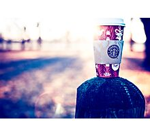 Behind every successful person…is a substantial amount of coffee. Photographic Print