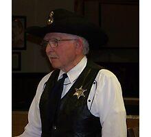 Marshal of Dodge City Kansas Photographic Print