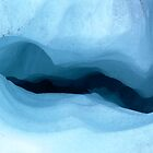 Ice hole on Fox Glacier, N.Z. by panvorax