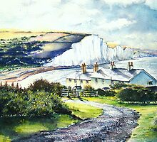 "Cuckmere Haven ""A valley of Light "" by LorusMaver"