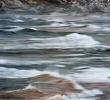 The Angry Waves of Lake Superior by Robert deJonge