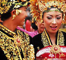 Indonesia Bali Wedding Ceromany by noelmiller