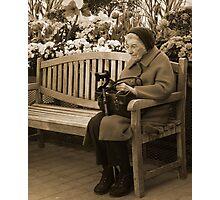 Reading In The Arboretum Photographic Print