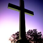 Sewanee Cross at Sunset #1 by Linda Curty