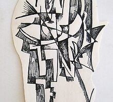 Sculpture drawing by Hannah Kenny