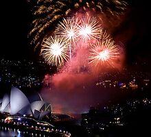 Sydney Opera House NYE 2010 by bradlentz-photo