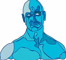 Dr Manhattan abstract by DLeeManners