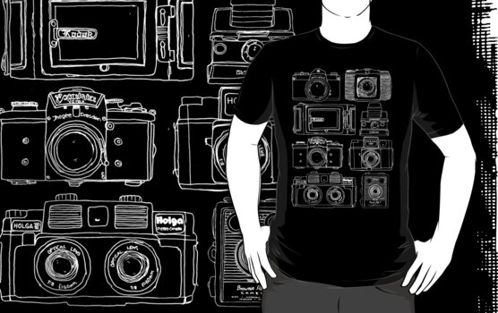 Cameras Black by Dan Coates
