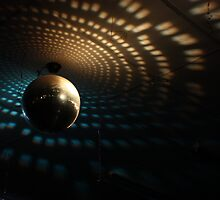 Disco Ball - Orange/Blue by Nick Gordon