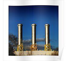 Power-plant (Rye House - Hoddesdon) Poster