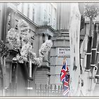 Union Jack, Whitehall by Jackie Barefield