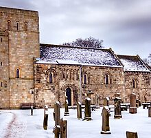 St Cuthbert's Church at Dalmeny by Tom Gomez