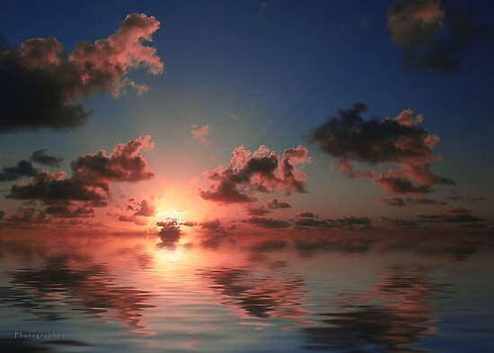 Caribbean Sunset by Yannik Hay