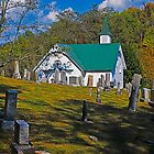 Mount Olive UMC, Jarvisville West Virginia by Bryan D. Spellman