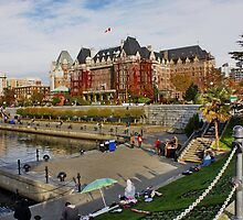 The Inner Harbour Victoria BC, Canada by AnnDixon
