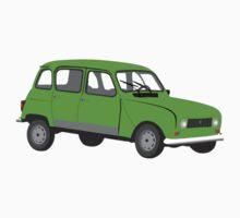 Renault 4 GTL Green Kids Clothes