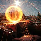 Full Moon Orb in Junk Yard by BlaisOne
