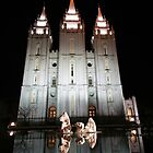 Salt Lake City Temple by Jess Fleming