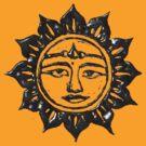 Sun God by Yvette Bell