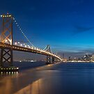 San Francisco Skyline at Dusk by MattGranz