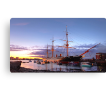 HMS Warrior 1860 Canvas Print