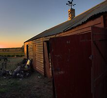 mount prior shed sunset by dmaxwell