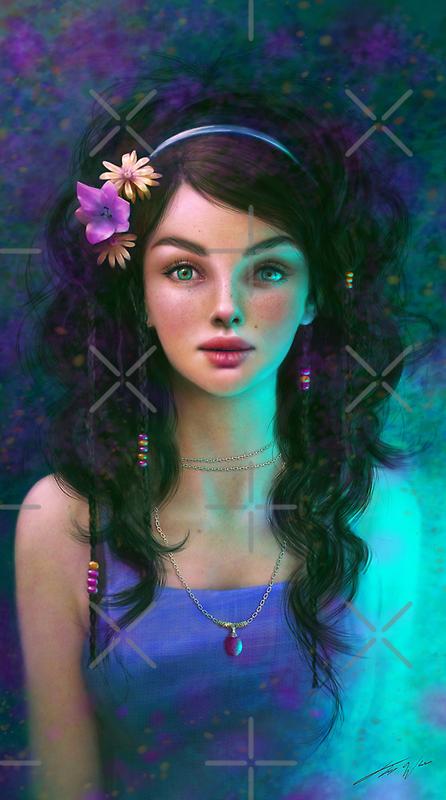 Light Blue by Tanya Varga (formerly Tanya Wheeler)