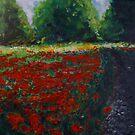Impressionist Poppy Field  by lizzyforrester