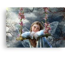 Sad fairy Canvas Print